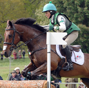 Sarah Ennis - on the Irish Nations Cup team at Tattersalls