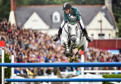 Fáilte Ireland Dublin Horse Show 2014 - Aga Khan Nations Cup